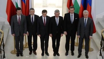 Kuchciński: Grupa Wyszehradzka widzi UE jako mocną wspólnotę państw narodowych