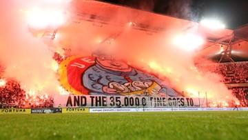 Świnia wyciągająca kary dla Legii. Odpowiedź kibiców na decyzję UEFA