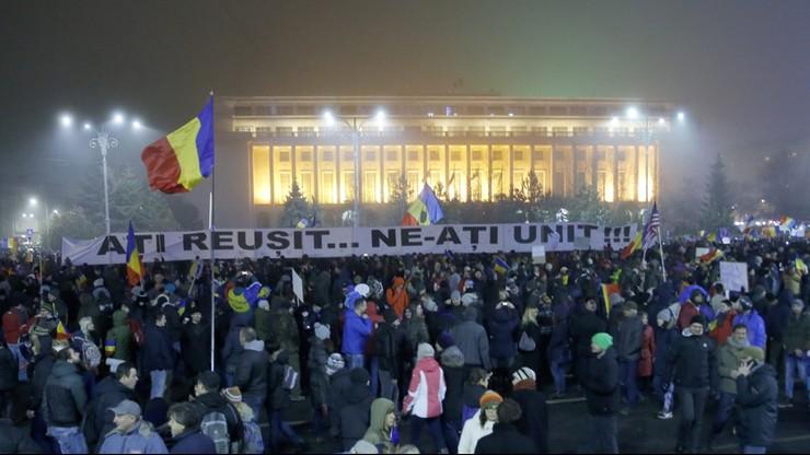 Ciąg dalszy protestów w Rumunii. Demonstranci domagają się rozliczenia władz