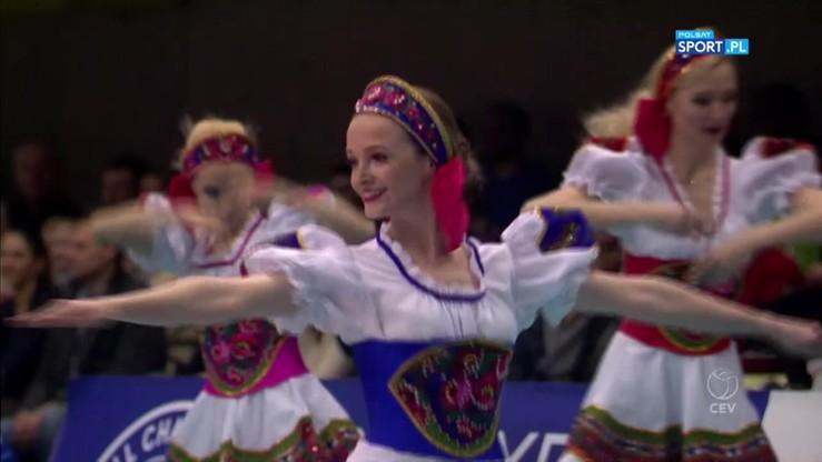 Kalinka na meczu Ligi Mistrzów w Moskwie