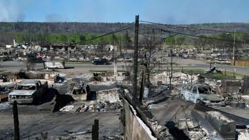 20-05-2016 06:39 Pożary w Kanadzie zbliżyły się do terenów wydobycia ropy naftowej