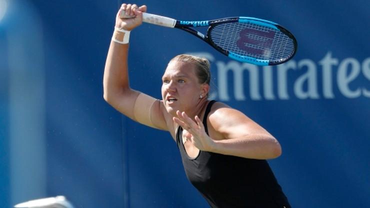 US Open: 418. w światowym rankingu Kanepi w ćwierćfinale