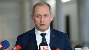 """07-01-2017 14:36 """"Mam nadzieję, że dostanie opinię, iż powinien złożyć urząd"""". Neumann o Kuchcińskim"""