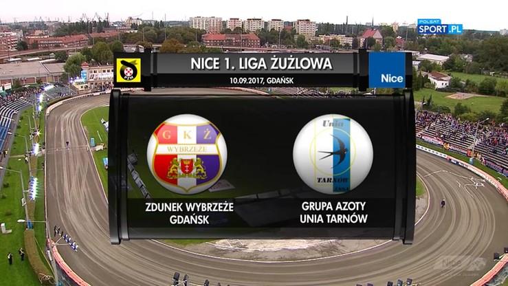 Zdunek Wybrzeże Gdańsk - Grupa Azoty Unia Tarnów 40:32. Skrót meczu