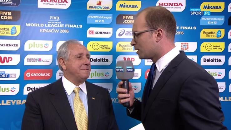 Prezydent FIVB: Musimy się zastanowić, dlaczego nie mieliśmy hali pełnej kibiców