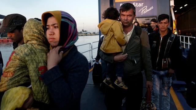 Od stycznia do września do UE dotarło 710 tysięcy migrantów