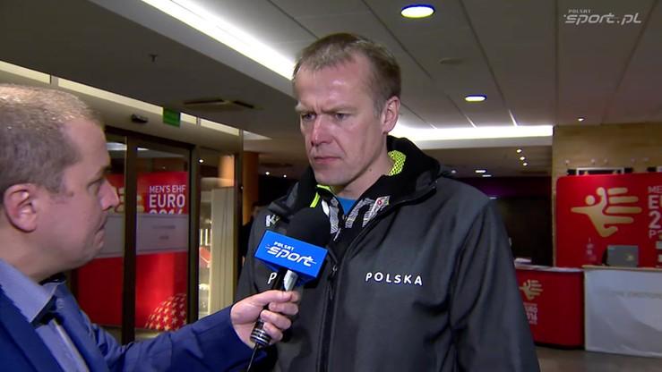 Będzikowski: Smutek ciągle w nas jest, ale postaramy się pokonać Szwecję
