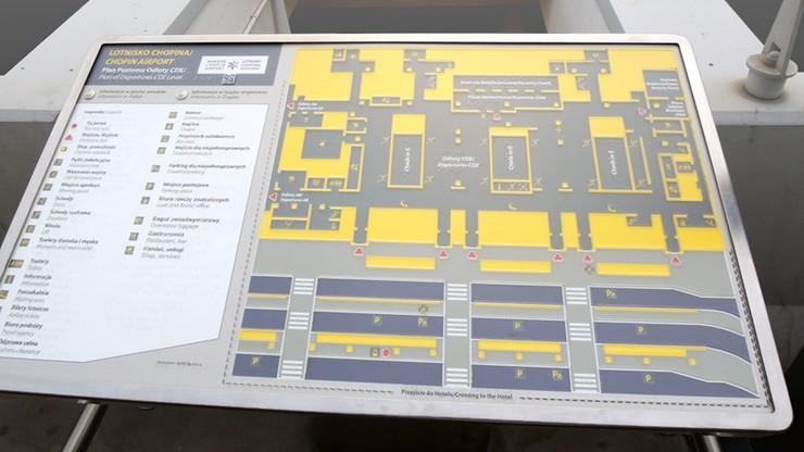 Nowe rozwiązania dla osób niewidomych na Lotnisku Chopina