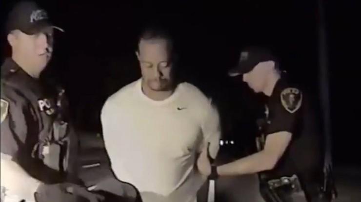 Jest nagranie z zatrzymania Woodsa! (WIDEO)