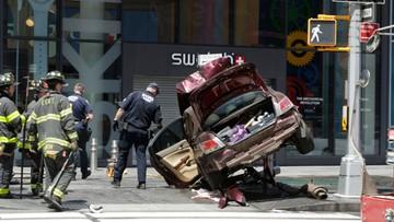 19-05-2017 05:41 Sprawca wypadku na Times Square mógł być pod wpływem narkotyków