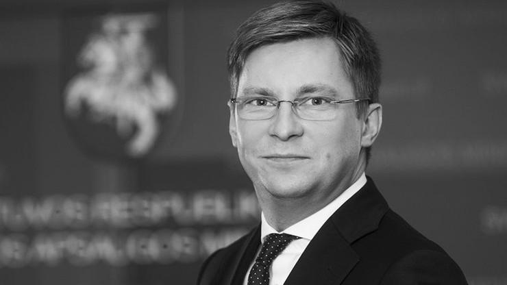Najmłodszy litewski minister zmarł na zapalenie trzustki