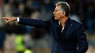 2017-01-08 Portugalczyk Queiroz zrezygnował z funkcji trenera piłkarzy Iranu