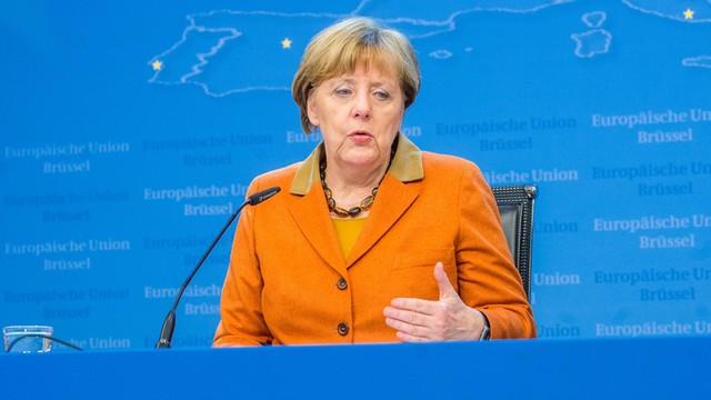 Niemcy: wzrost poparcia dla kanclerz Merkel