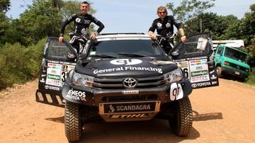 2017-09-14 Rajd Dakar: Trzeci start litewsko-polskiej załogi