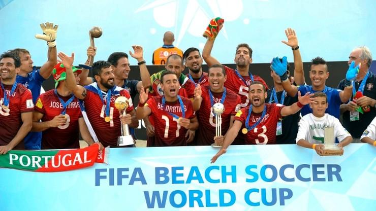 Portugalczycy mistrzami świata w piłce nożnej plażowej