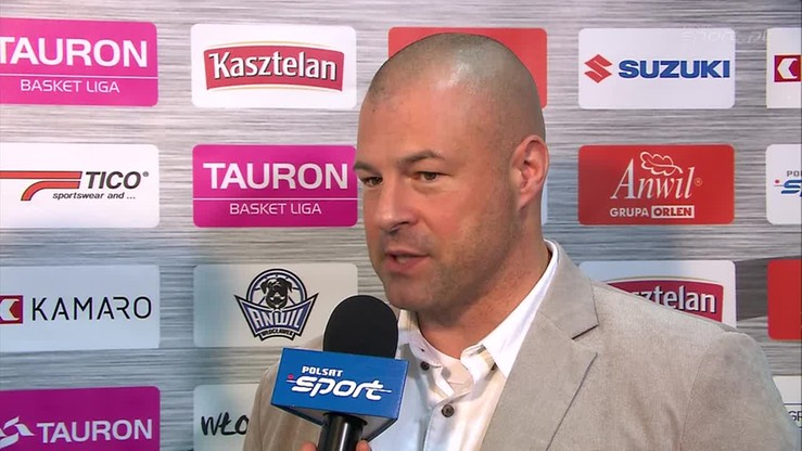 2015-11-22 Mike Taylor: Jestem zadowolony z tego, co zobaczyłem w meczu Anwil - Śląsk