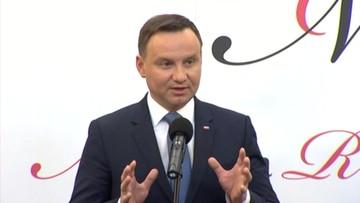 Prezydent: opozycja żywi się sporem wokół Trybunału Konstytucyjnego