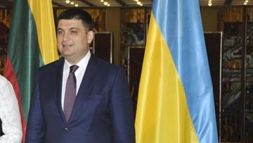 11-04-2016 14:06 Kandydat na premiera Ukrainy ma już propozycje na nowych ministrów