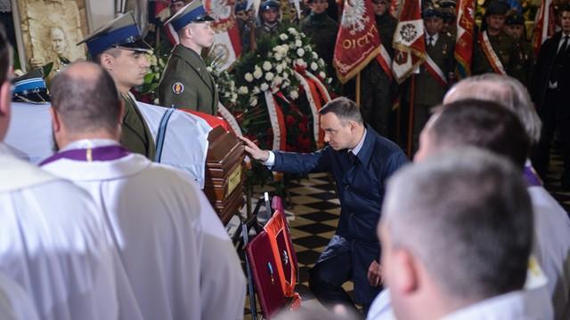 Duda: Ważne, że dziś Polska oddaje cześć takim jak Łupaszka
