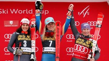 2017-03-11 Puchar Świata: Shiffrin wygrała gigant w Squaw Valley