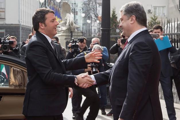 Premier Włoch na Ukrainie - trzeba przestrzegać porozumień