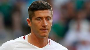 Lewy dopiero dziewiąty w plebiscycie na najlepszego piłkarza Europy