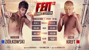 2016-07-09 FEN 13: Łamator vs Golden Boy na gali Summer Edition!