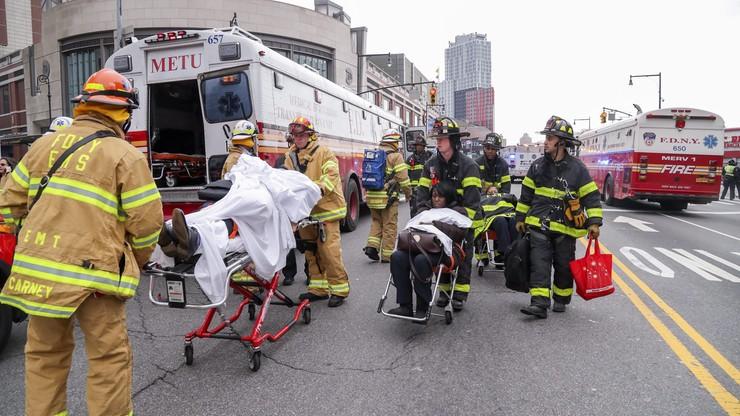 Wypadek kolejowy w Nowym Jorku. Ucierpiało ponad 100 osób