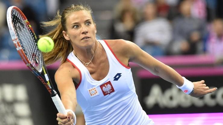WTA w Pekinie: Porażka Rosolskiej w deblu