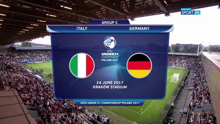 Euro U-21: Włochy - Niemcy 1:0. Skrót meczu