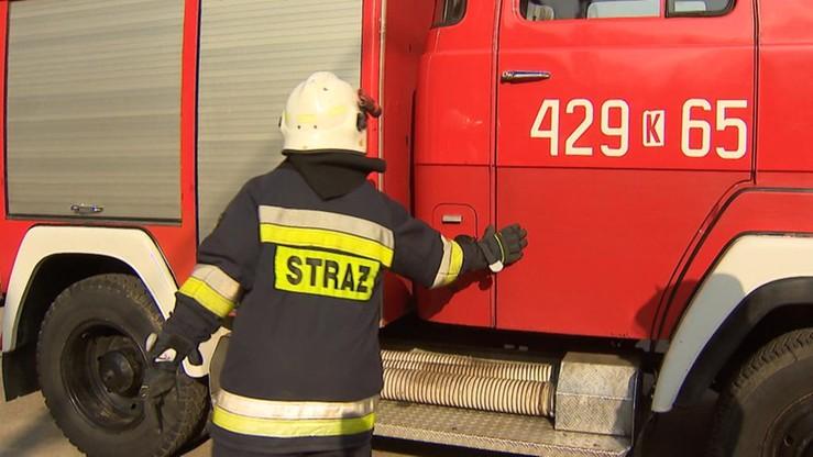 Podpalenie przyczyną pożaru Zakładów Mięsnych Olewnika. Straty wyceniono na 100 mln zł