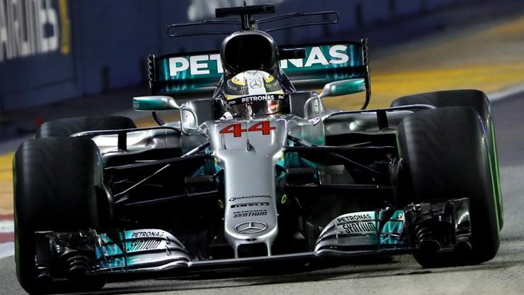 Formuła 1: Hamilton wygrał w Singapurze