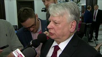 Borusewicz o przyjęciu budżetu przez Senat
