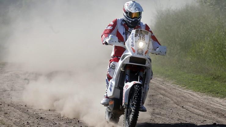 Polski motocyklista wygrywa Rajd Faraonów