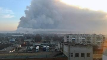 13-04-2017 12:26 Miliard dolarów strat po pożarze największego składu amunicji na Ukrainie