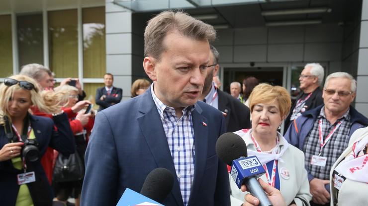 Błaszczak: decyzję ws. organizacji festiwalu Woodstock podejmie burmistrz Kostrzyna