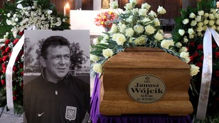 W Warszawie pożegnano Janusza Wójcika - byłego selekcjonera reprezentacji Polski