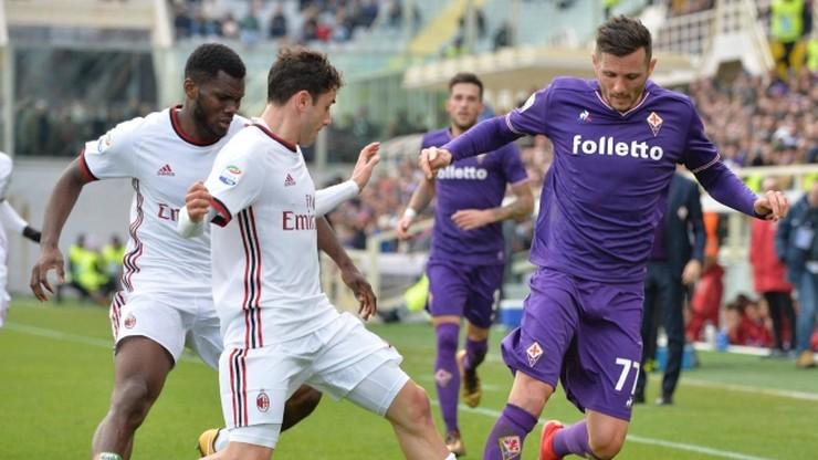 Słaby Milan wywiózł punkt z Florencji
