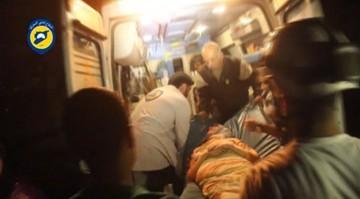28-04-2016 13:08 Naloty na szpital w Aleppo. Zginęło 27 osób