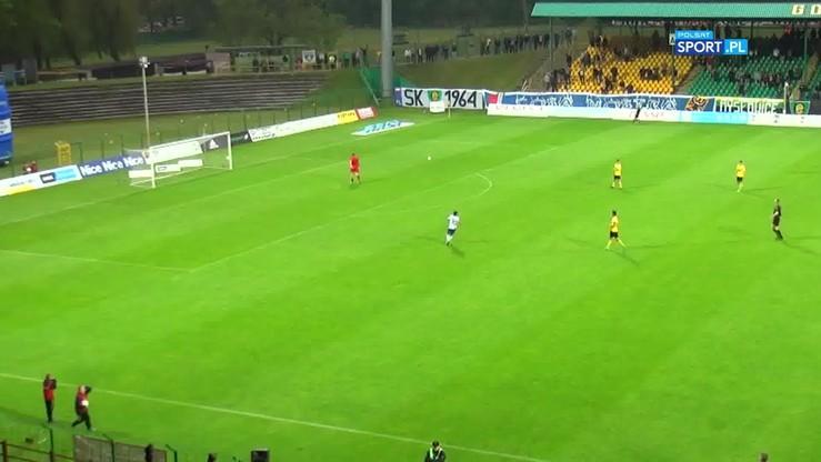 Gol zza połowy w ostatniej minucie! Dramat GKS-u Katowice