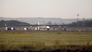 Solarny samolot zakończył lot nad Atlantykiem. Wylądował w Hiszpanii