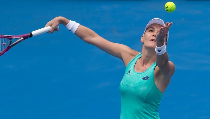 WTA w Sydney: Radwańska zadowolona z formy przed Australian Open