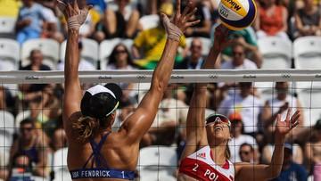 07-08-2016 17:46 Rio: udany debiut siatkarek plażowych. Brzostek i Kołosińska pokonały Amerykanki