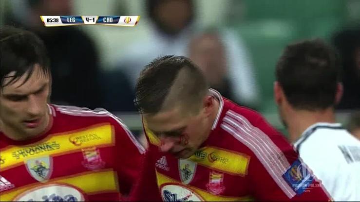 Vranjes złamał nos piłkarzowi Chojniczanki Chojnice
