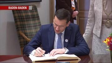 """17-03-2017 20:40 """"To uznanie naszego dorobku"""". Morawiecki o szczycie G20"""