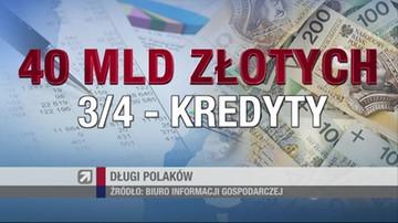 Ponad 2 mln Polaków nie radzi sobie z długami