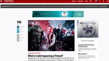 """15-01-2016 14:05 """"Prawda o Polsce"""" - akcja PiS skierowana do zachodnich społeczeństw i mediów"""