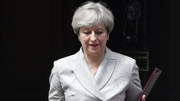 16-06-2017 20:15 Premier W. Brytanii pod ochroną policji wracała ze spotkania ws. pożaru wieżowca