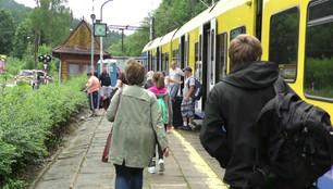 Kolejowa gehenna w Wiśle. Remont trasy w środku sezonu turystycznego