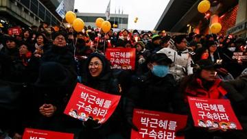 01-01-2017 12:42 Korea Południowa. Prezydent Park odrzuca oskarżenia o zamieszanie w korupcję